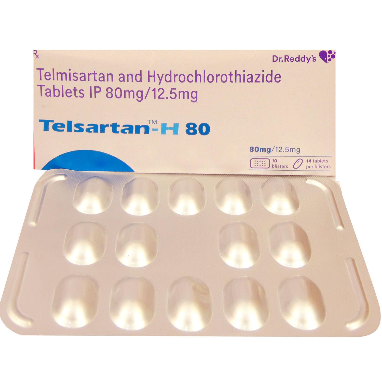 Telsartan-H 80 Tablet 14's