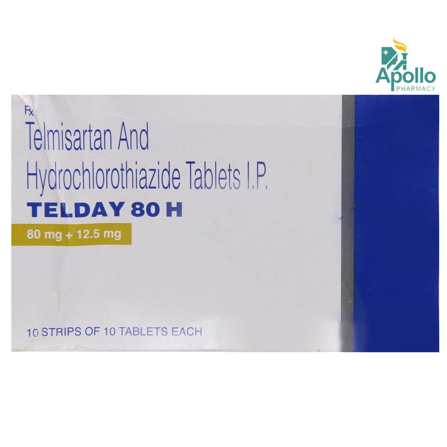 Telday 80 H Tablet 10's