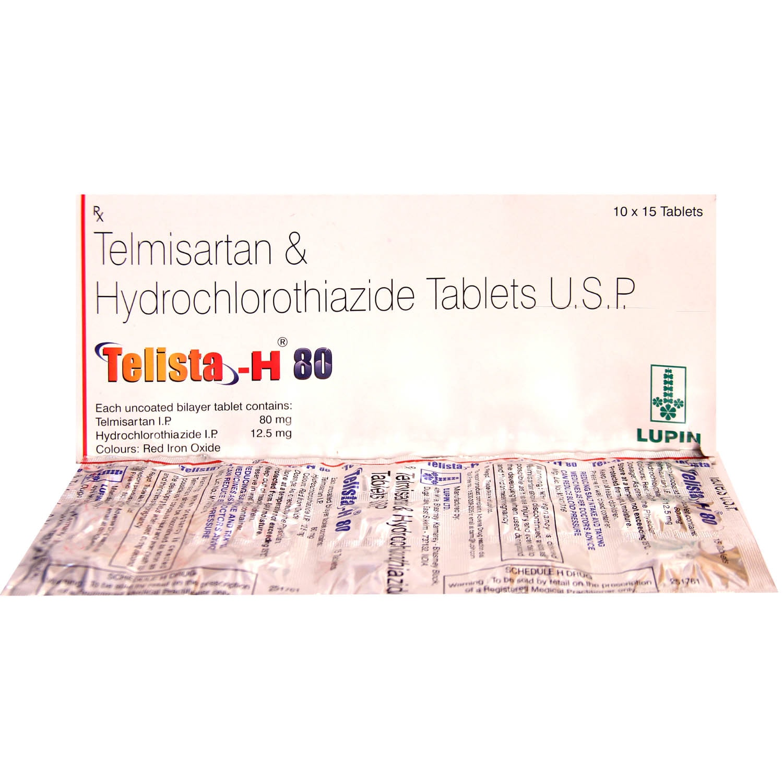Telista H 80 Tablet 15's