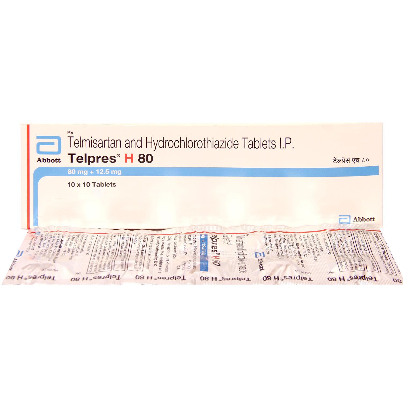 Telpres H 80 Tablet 10's