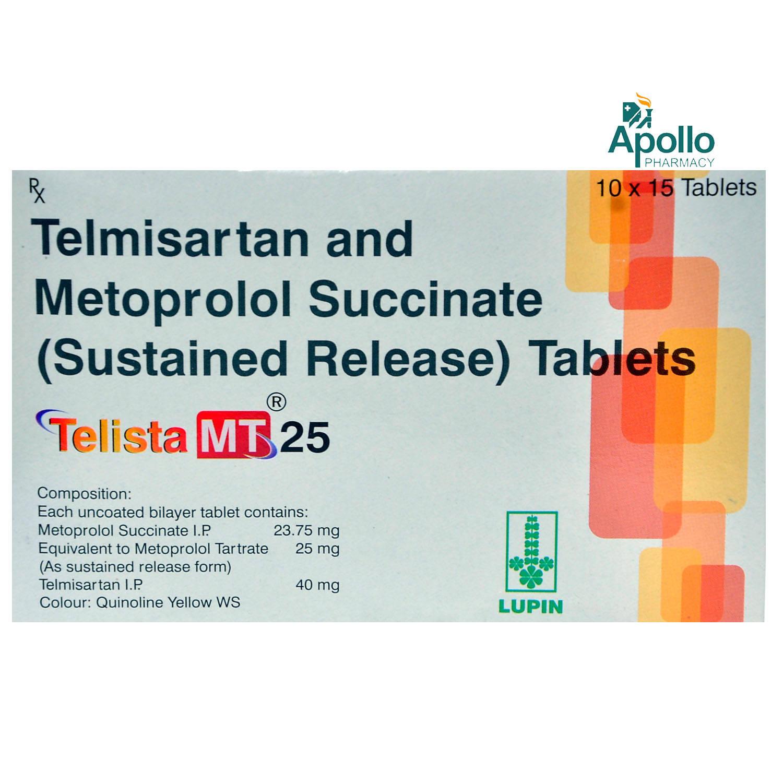 Telista MT 25 Tablet 15's