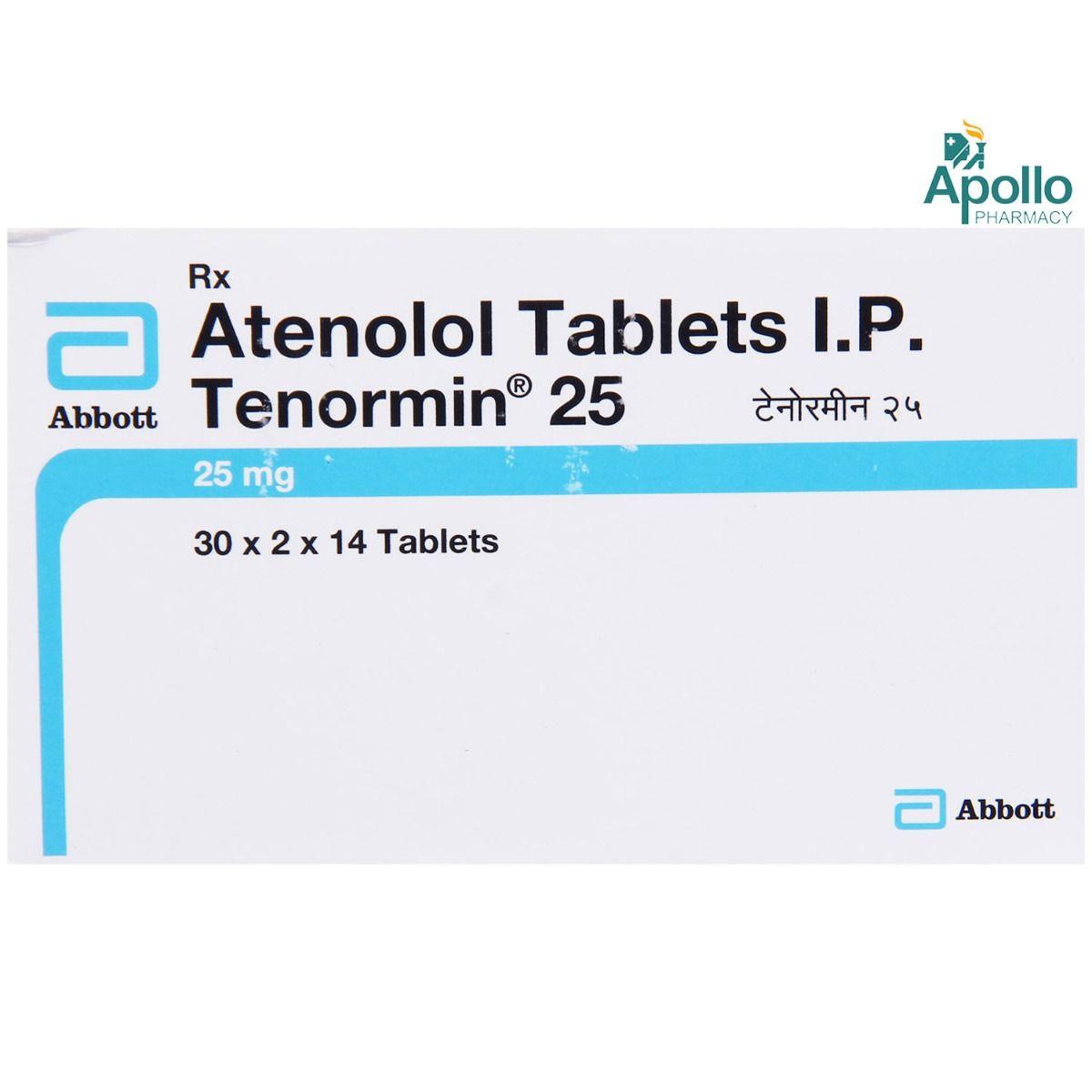 Tenormin 25 Tablet 14's