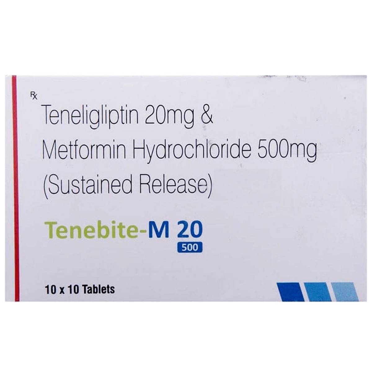 Tenebite-M 20/500 Tablet 10's