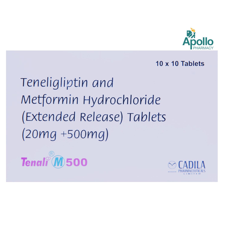 Tenali M 500 Tablet 10's