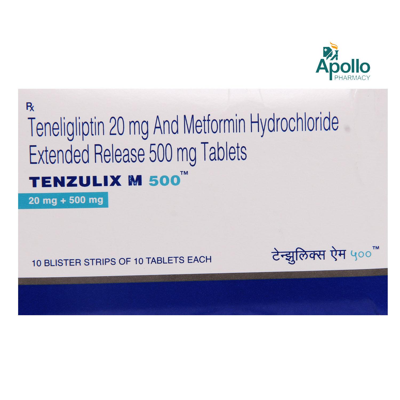 Tenzulix M 500 Tablet 10's