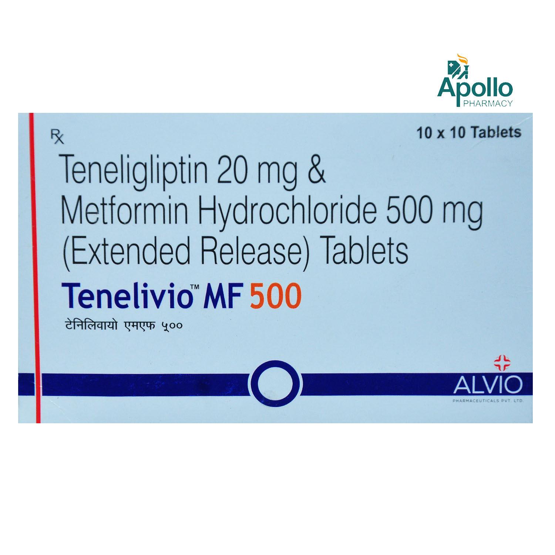 Tenelivio MF 500 Tablet 10's