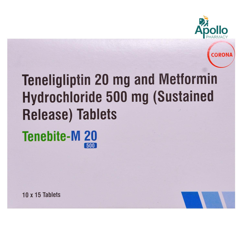 Tenebite-M 20/500 Tablet 15's