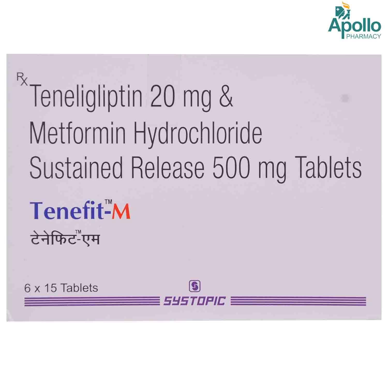 Tenefit M Tablet 15's