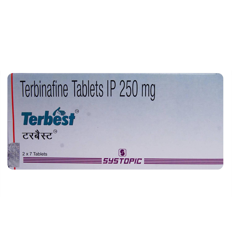 Terbest 250 Tablet 7's