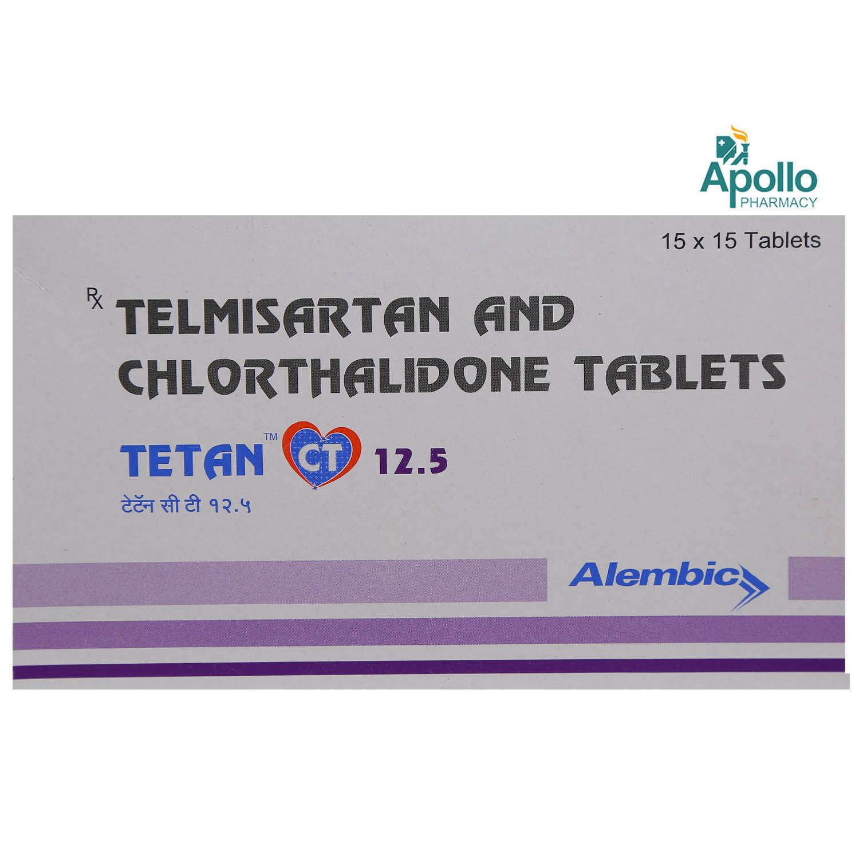Tetan CT 12.5 Tablet 15's