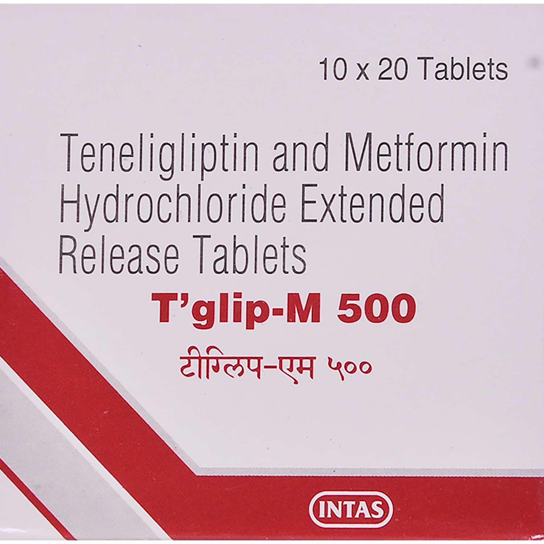 Tglip-M 500 Tablet 20's