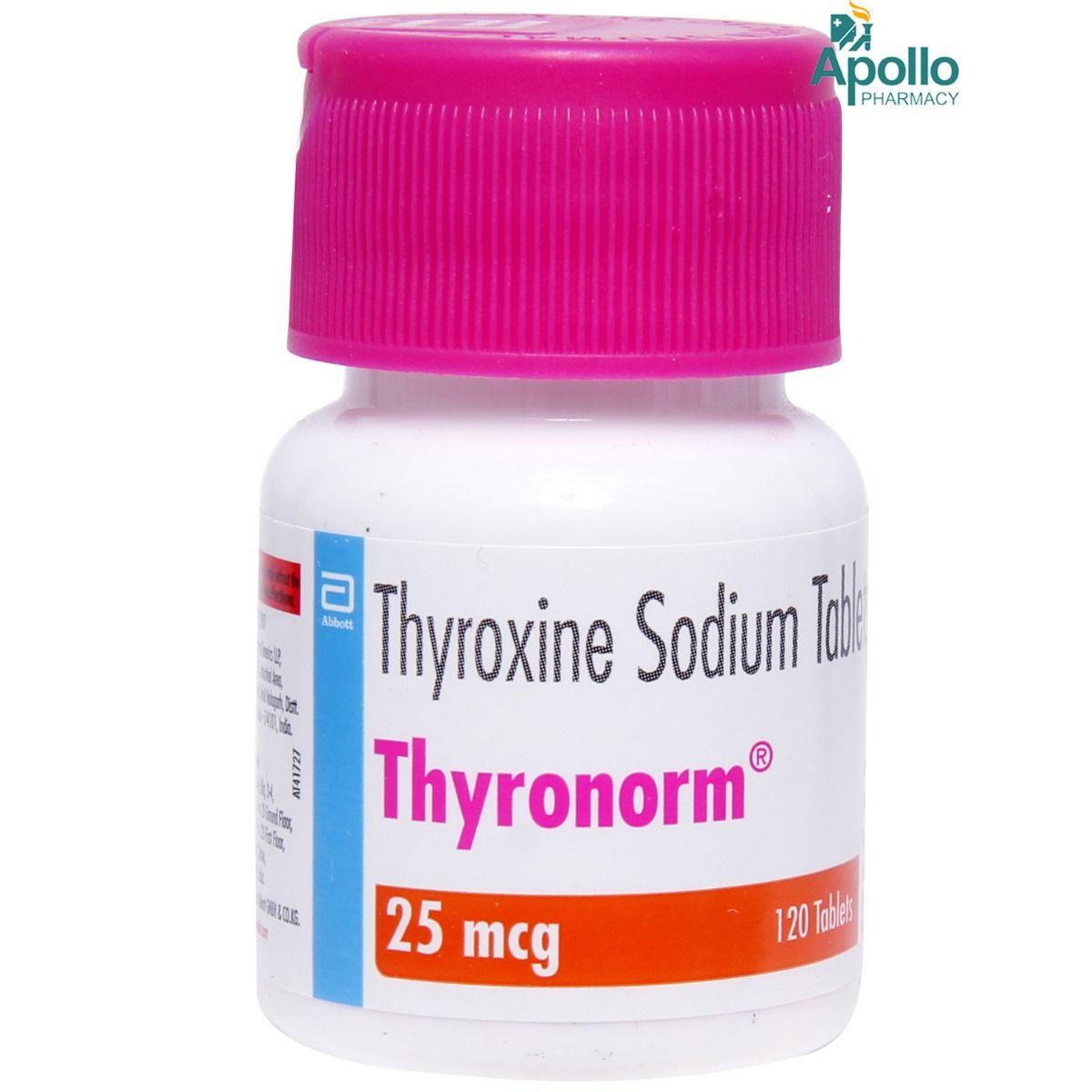 Thyronorm 25Mcg Tablet 1'S
