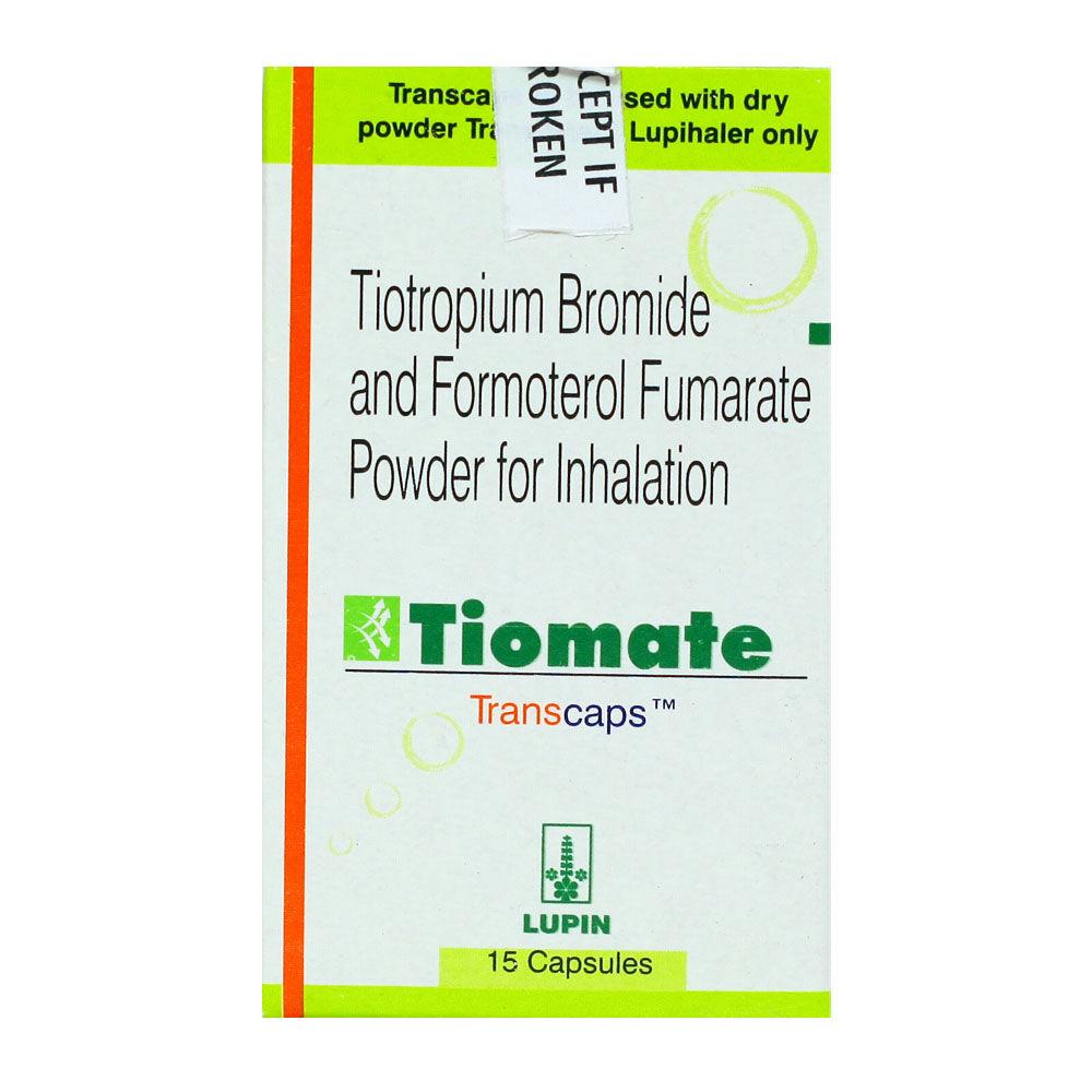 Tiomate Transcaps 15's