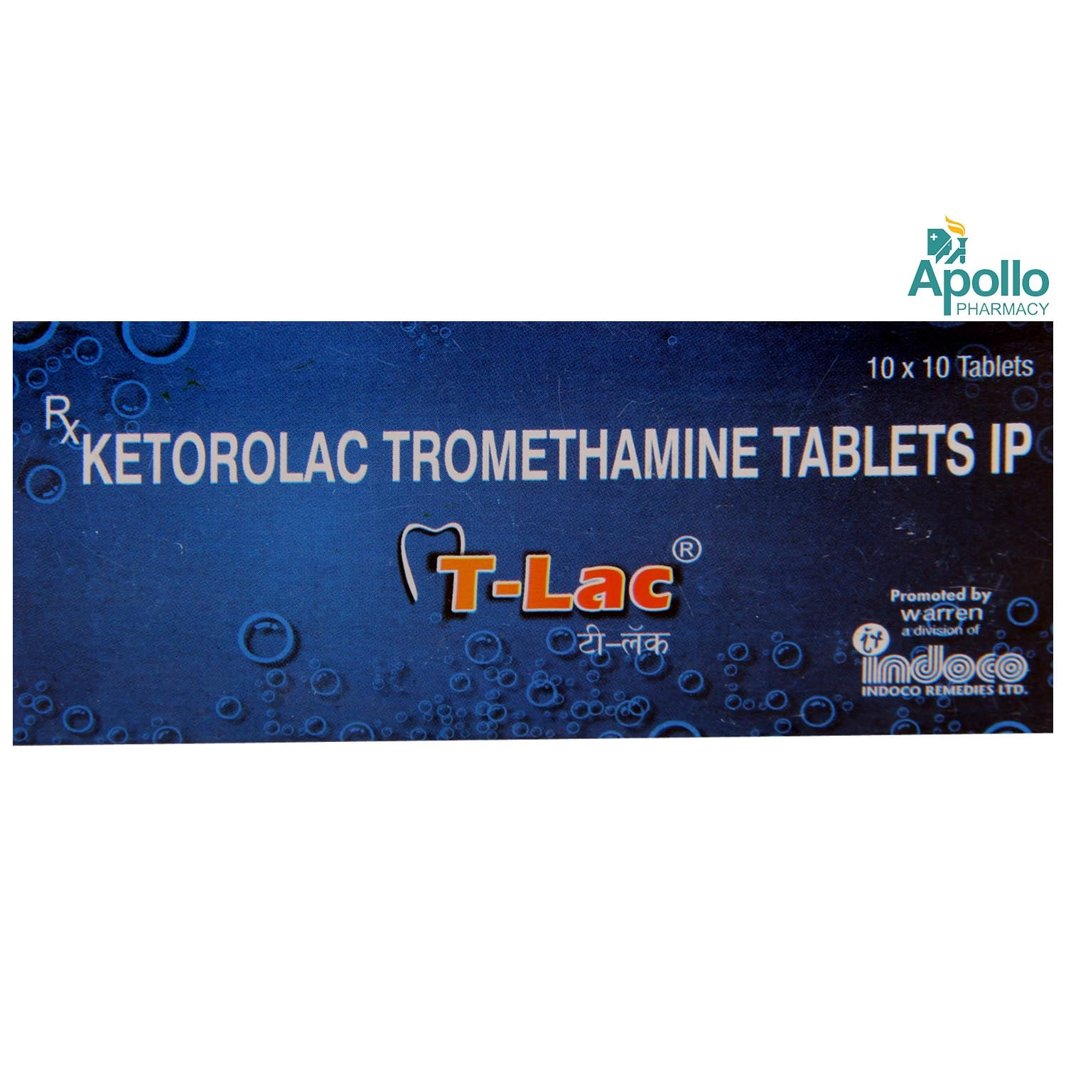 T LAC TABLET 10'S