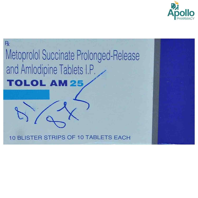 TOLOL AM 25MG TABLET