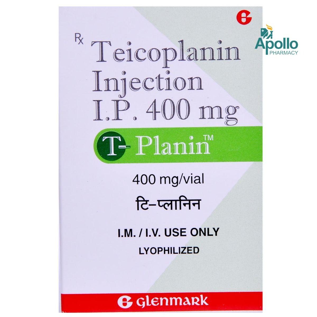 TPLANIN 400MG INJECTION