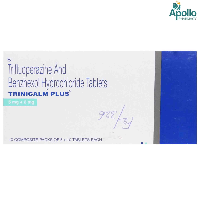TRINICALM PLUS MG TABLET
