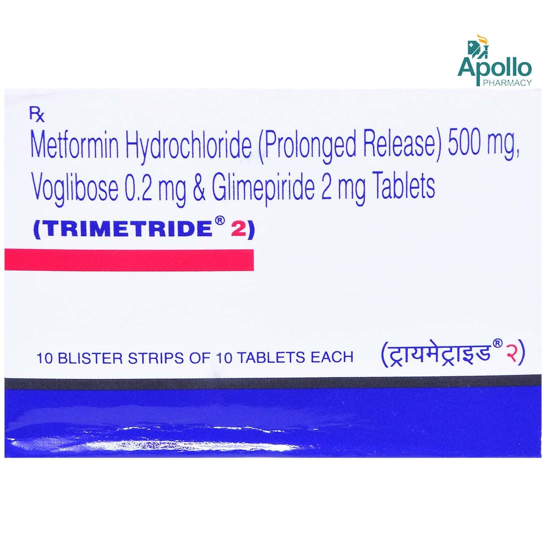 TRIMETRIDE 2MG TABLET