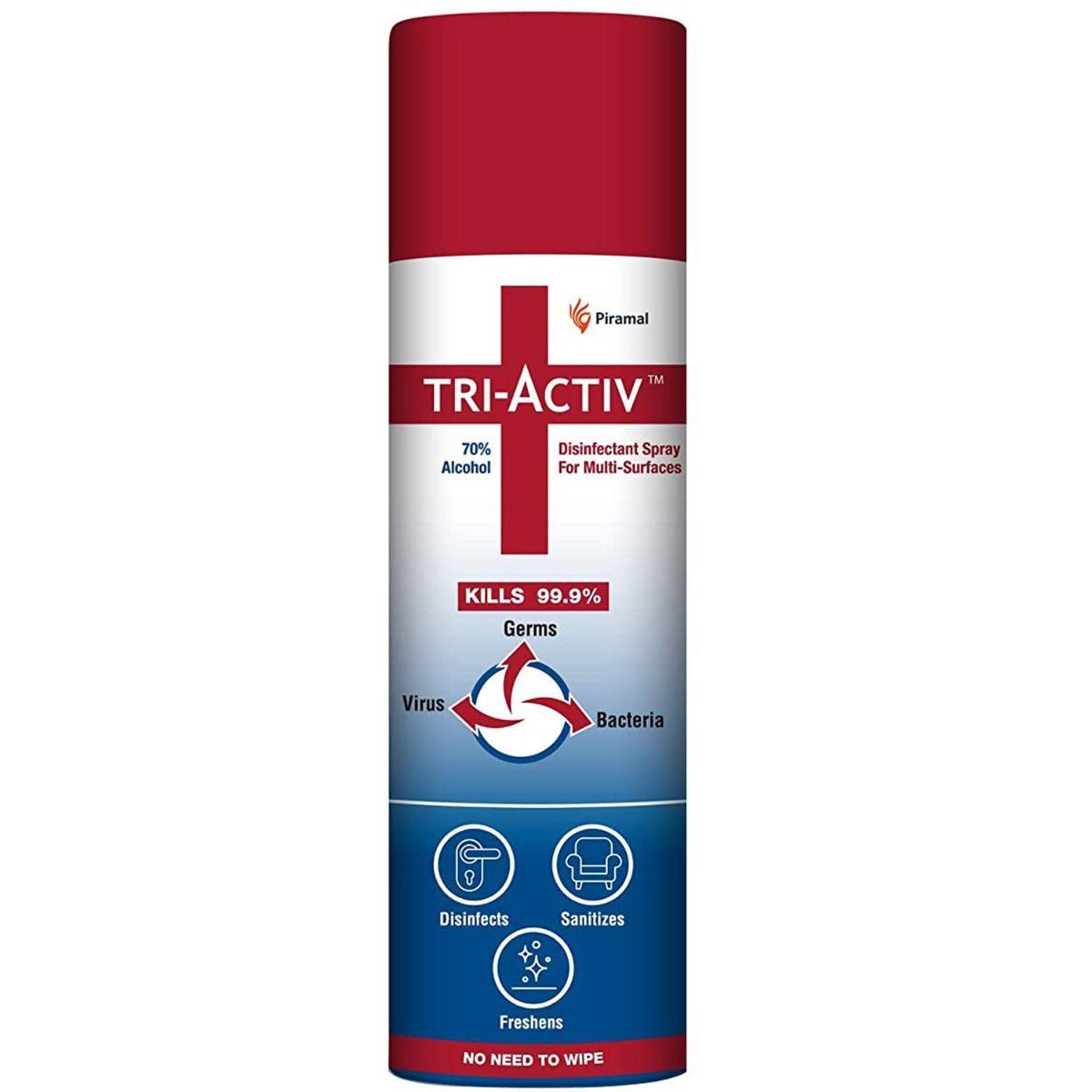 Tri-Activ Multi-Surfaces Disinfectant Spray, 230 ml