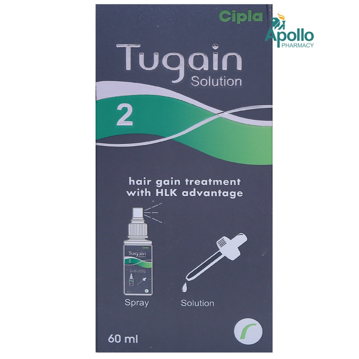 TUGAIN 2% TOPICAL SOLUTION 60ML