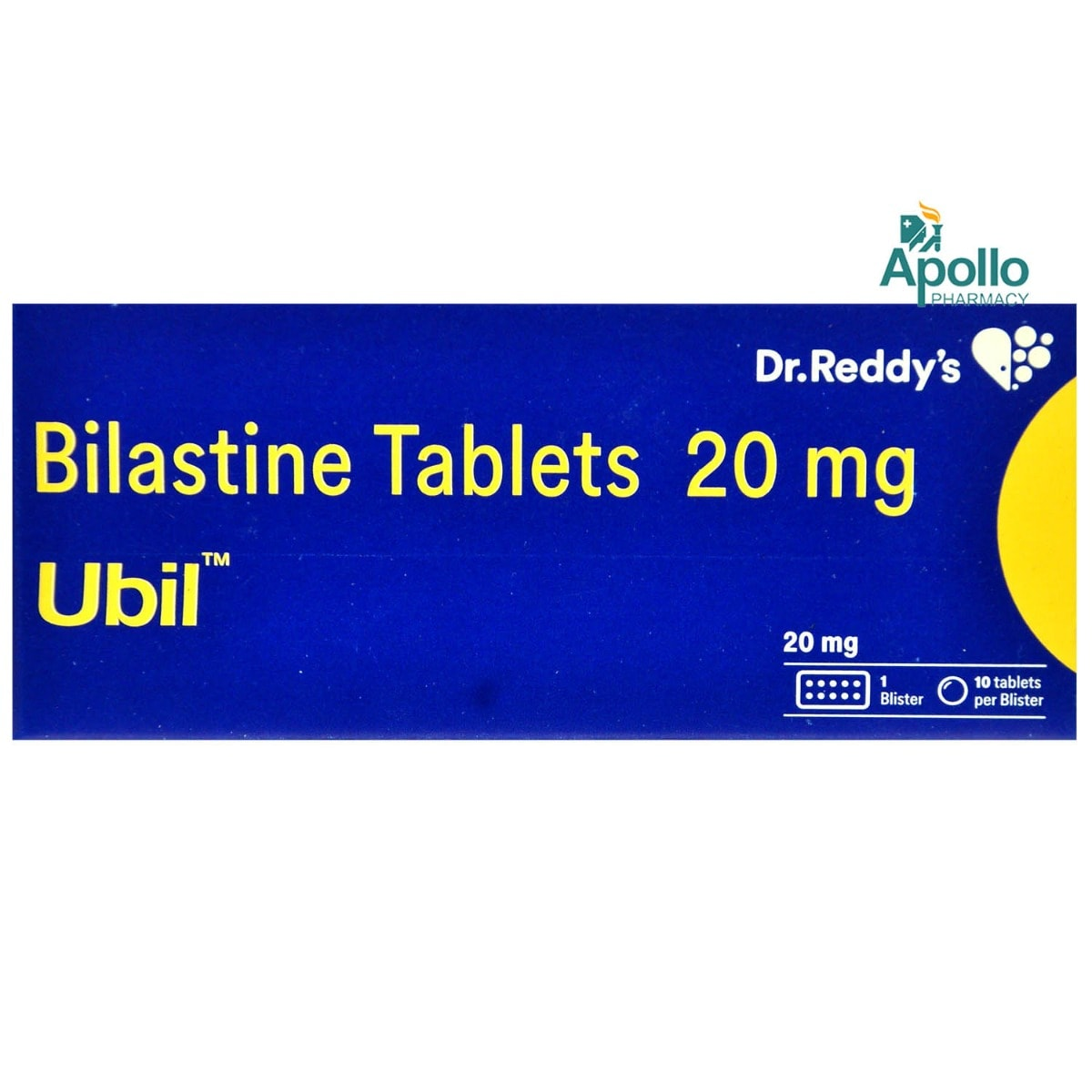 Ubil Tablet 10's