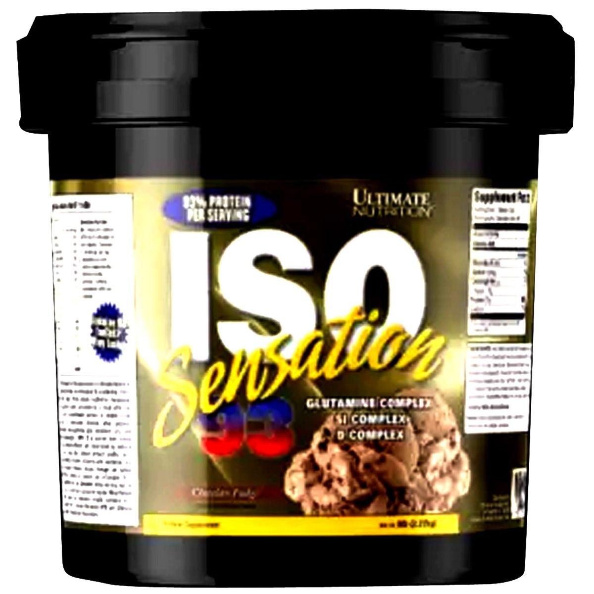 Ultimate Iso Sensation Chocolate Fudge Flav Powder 2.27kg