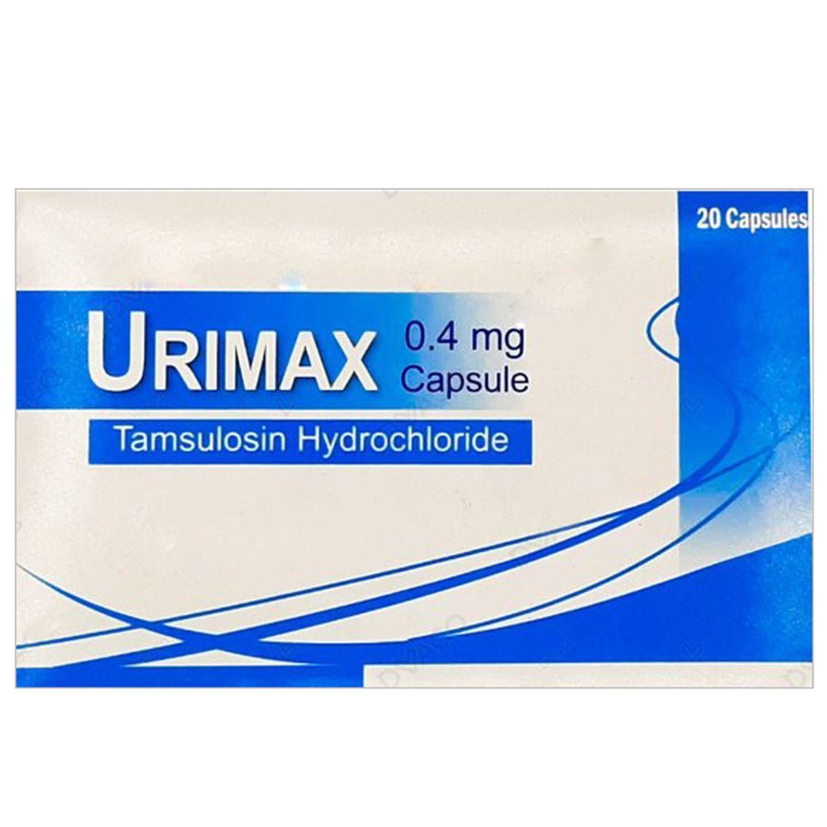 Urimax 0.4 mg Capsule 20's