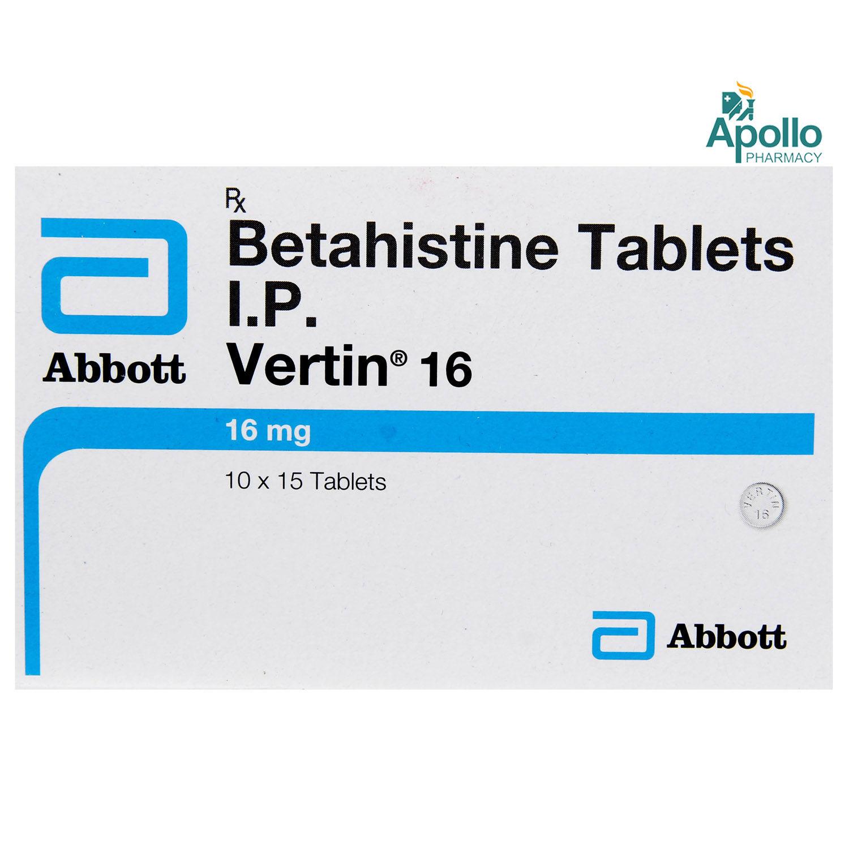 Vertin 16 Tablet 15's