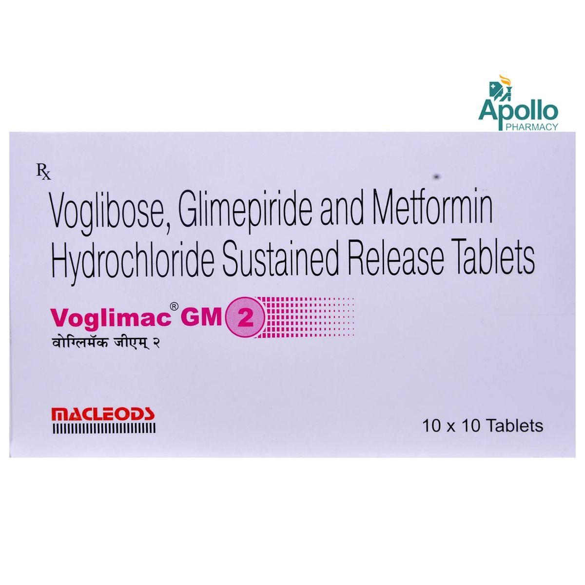 Voglimac GM 2mg Tablet 10's