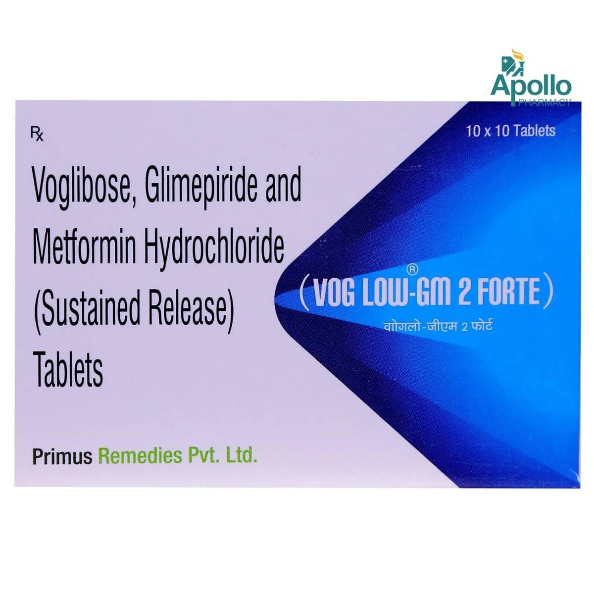 VogLow-GM 2 Forte Tablet 10's