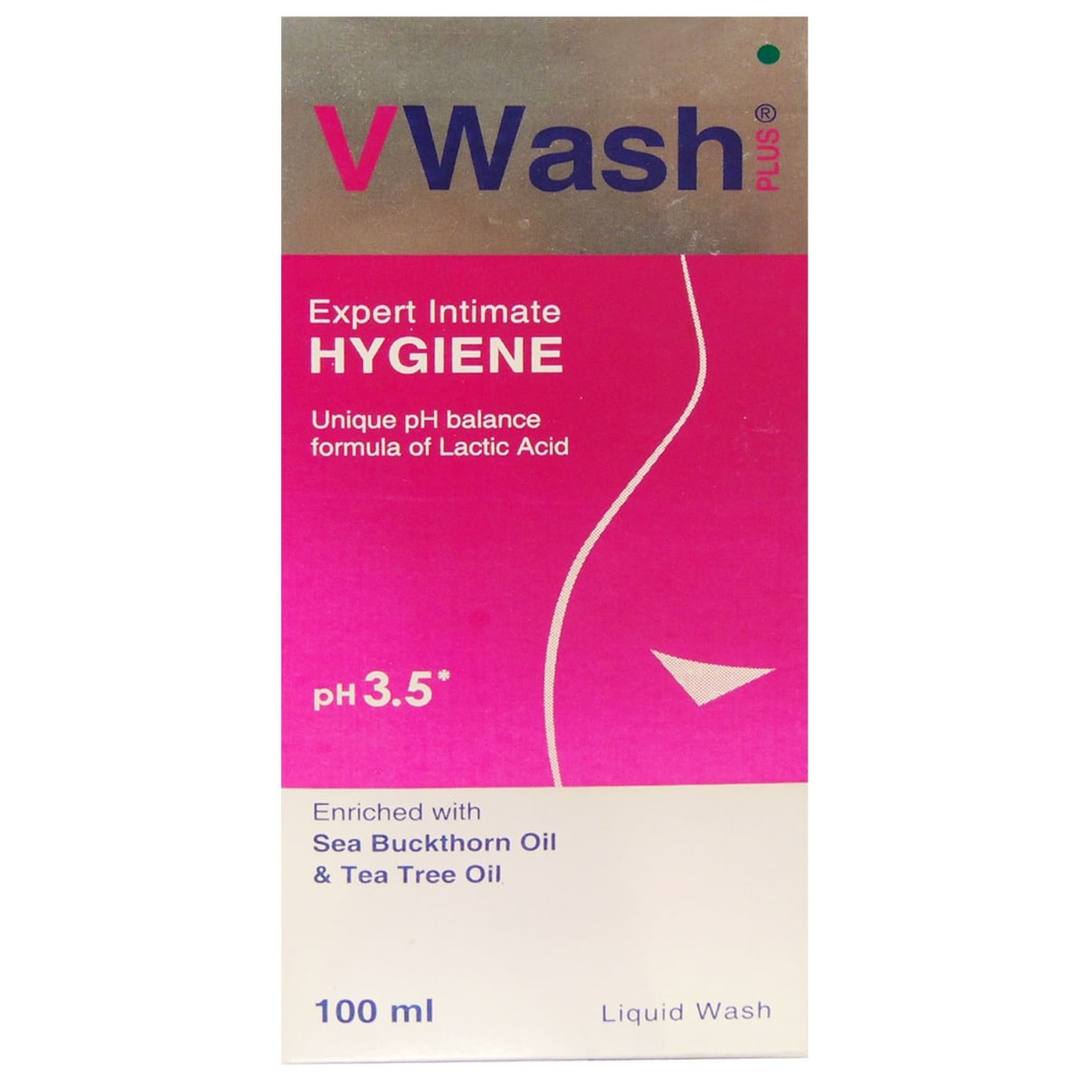 VWash Plus Expert Intimate Hygiene Wash, 100 ml