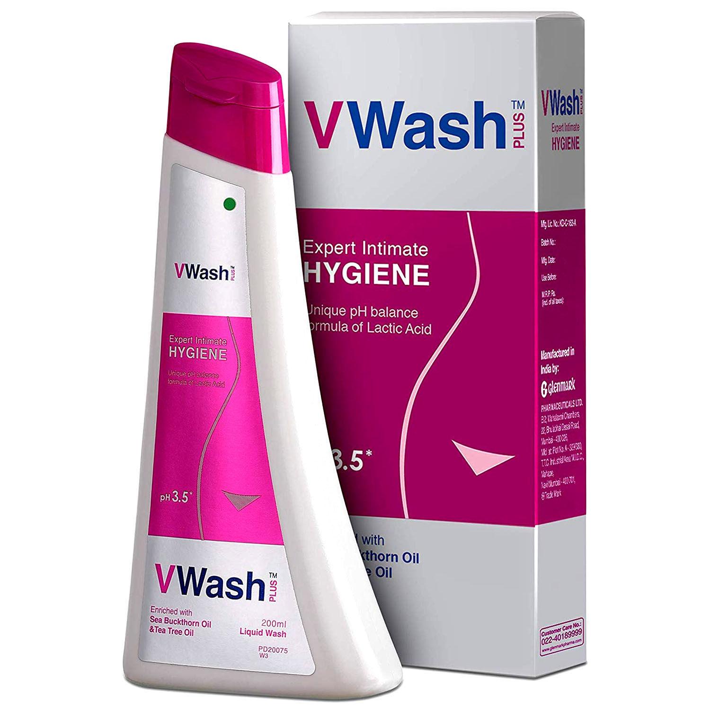 VWash Plus Expert Intimate Hygiene Wash, 200 ml