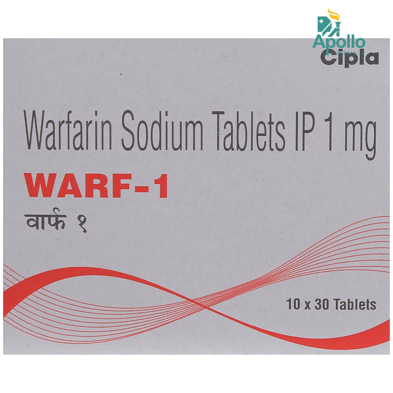 Warf-1 Tablet 30's