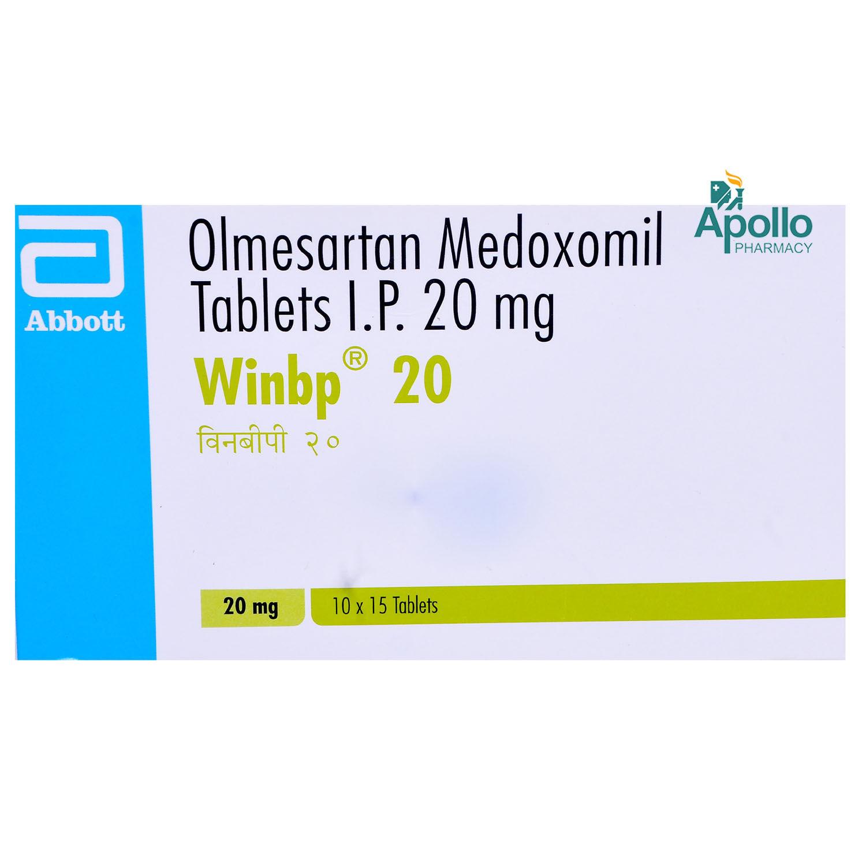 Winbp 20mg Tablet 15's