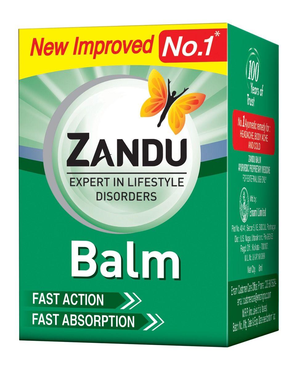 Zandu Balm, 8 ml