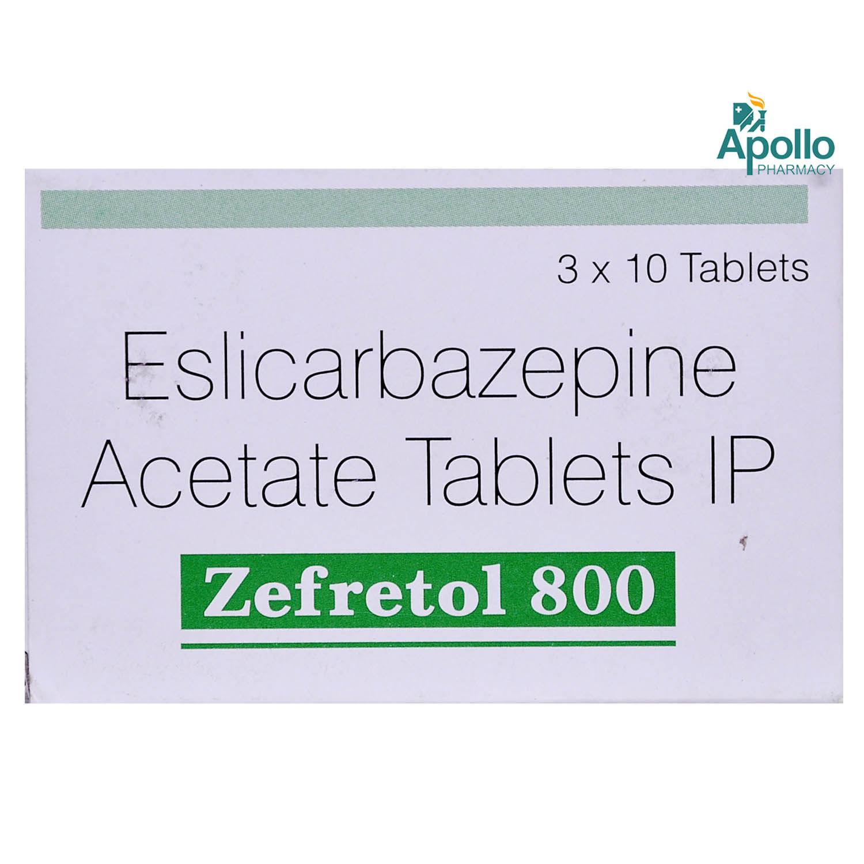 Zefretol 800 Tablet 10's