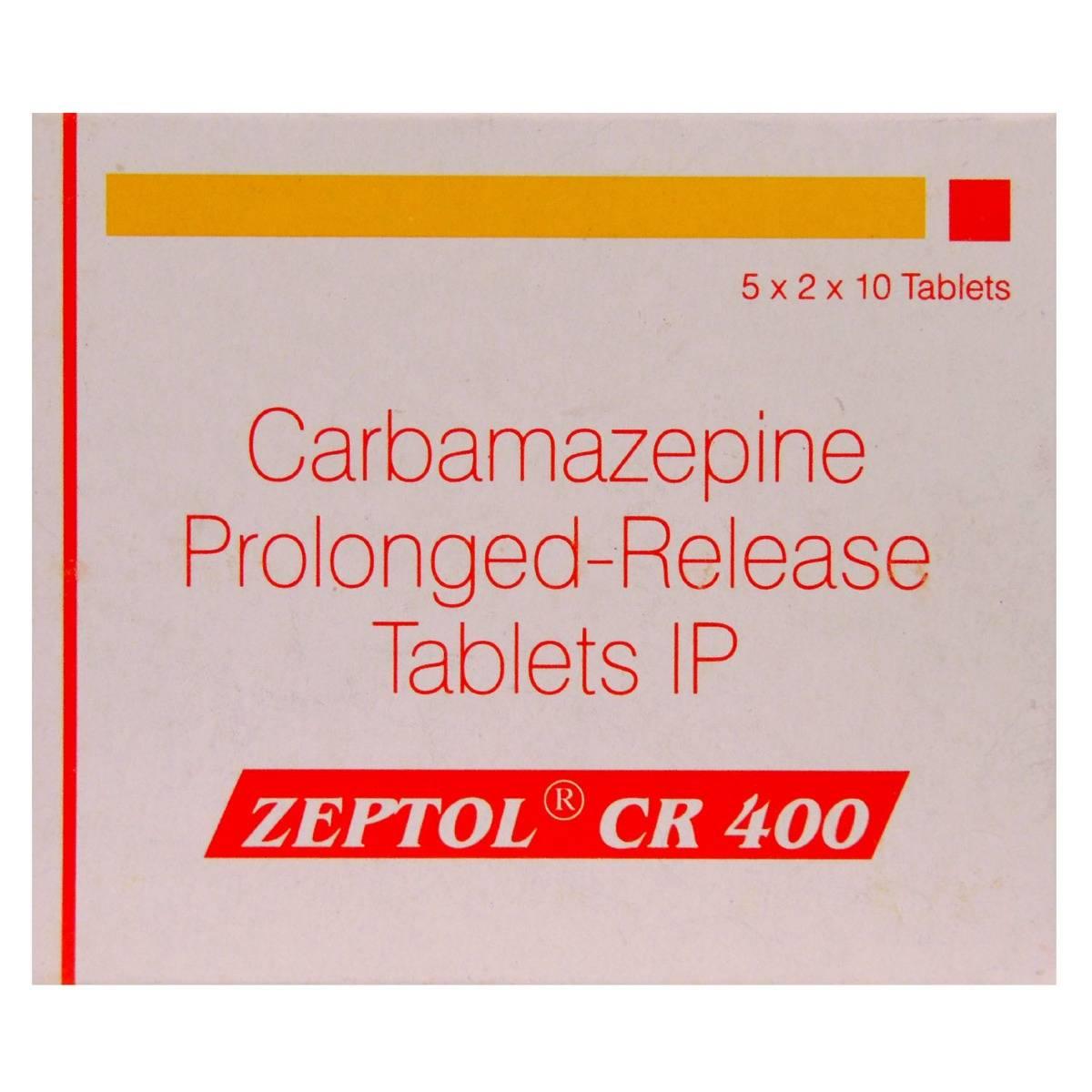 Zeptol CR 400 Tablet 10's