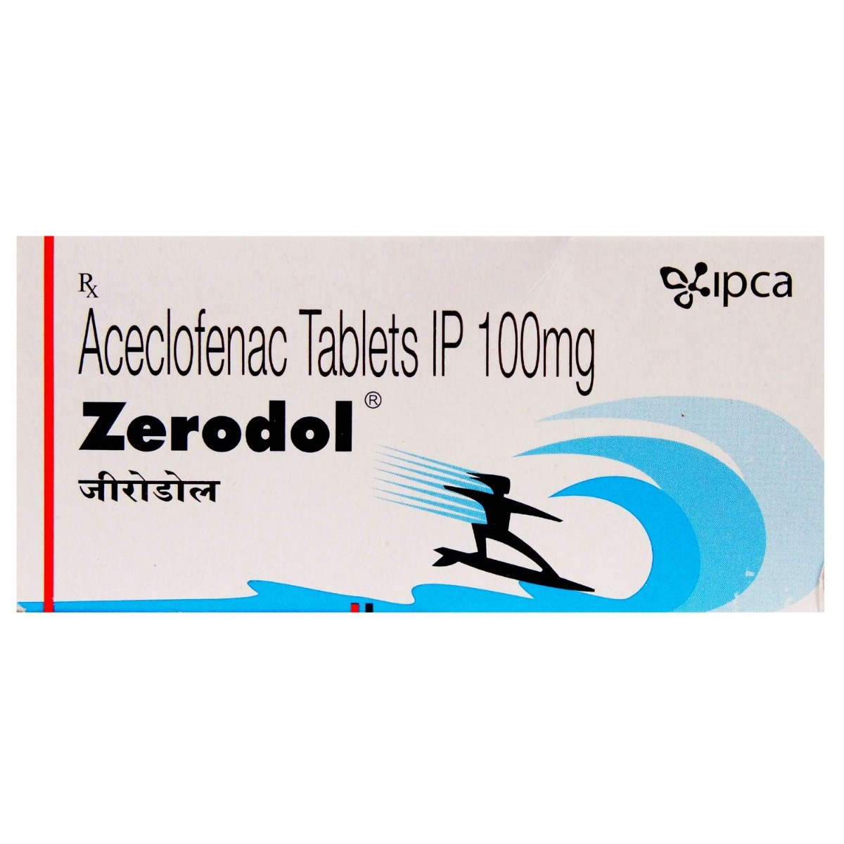 Zerodol 100mg Tablet 10's