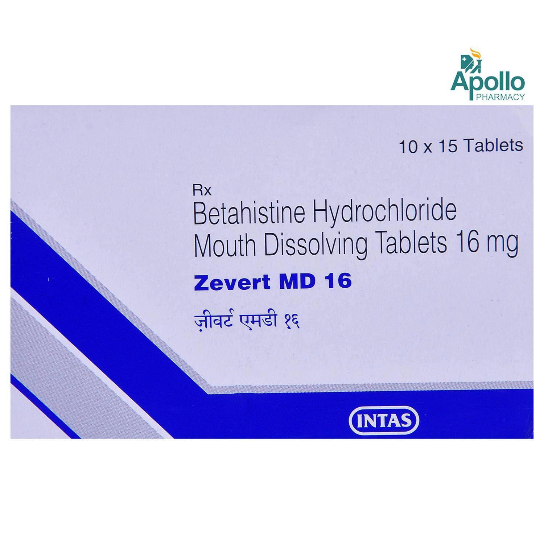 Zevert MD 16 Tablet 15's