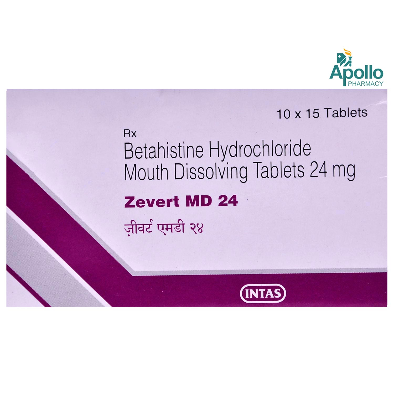 Zevert MD 24 Tablet 15's
