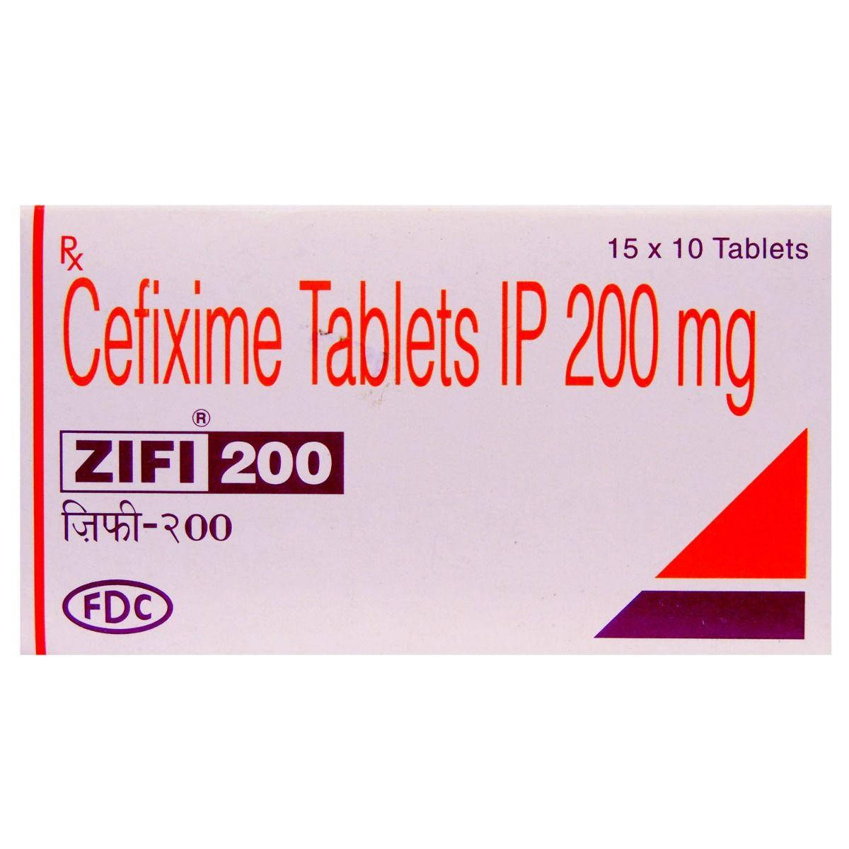 Zifi 200mg Tablet 10's