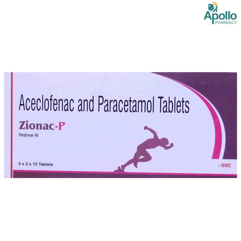 ZIONAC P TABLET 15'S