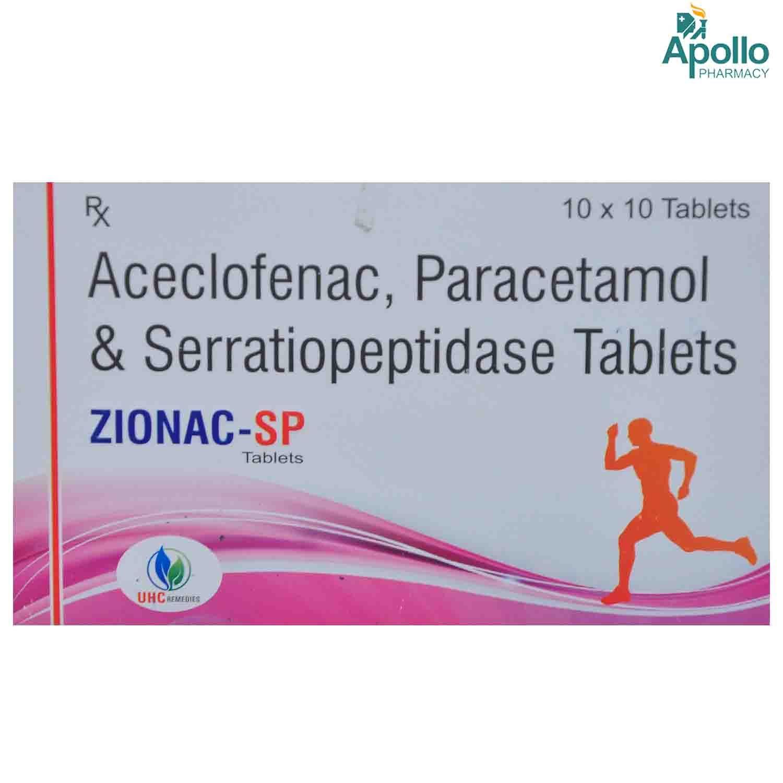 Zionac-Sp Tablet 10s