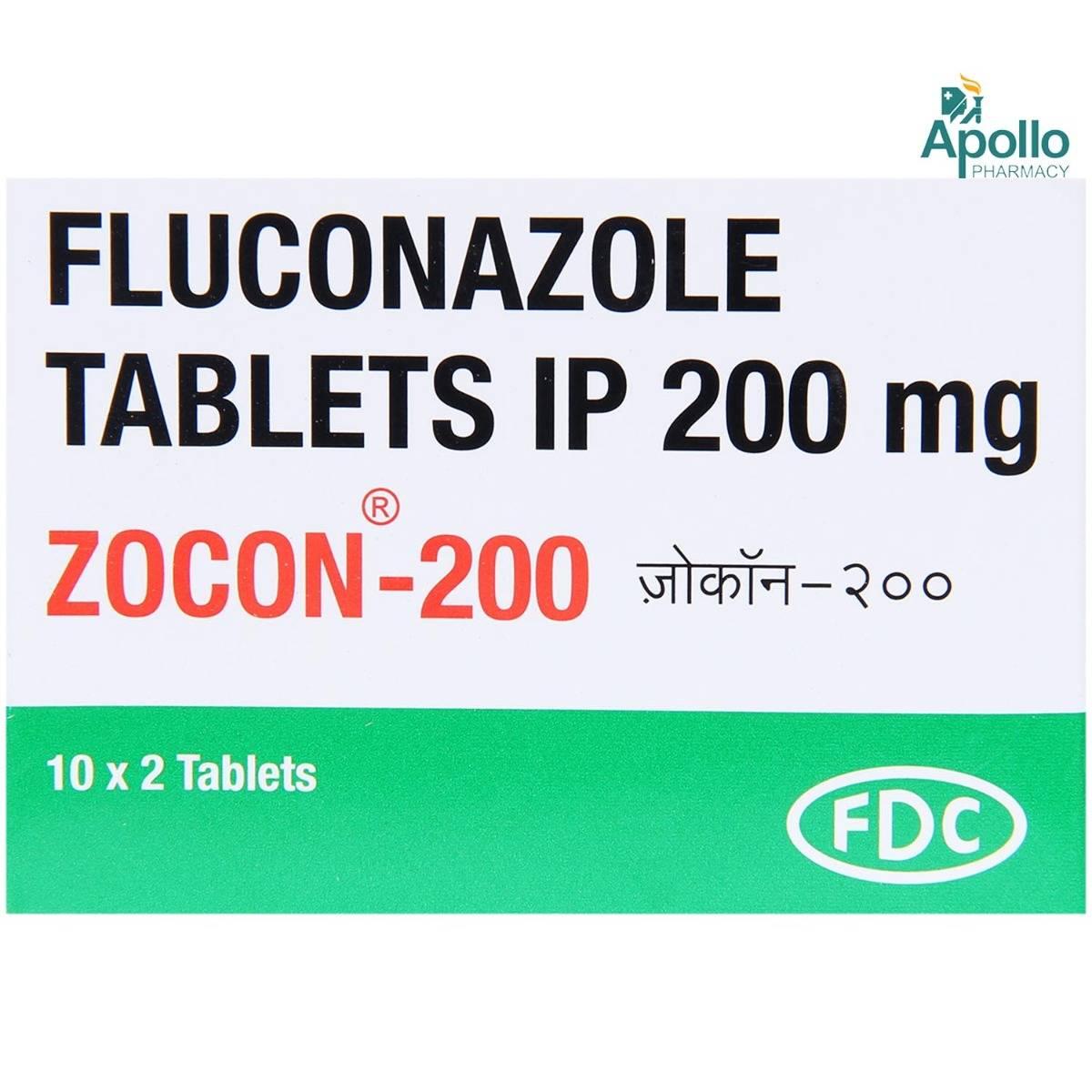 Zocon-200 Tablet 2's