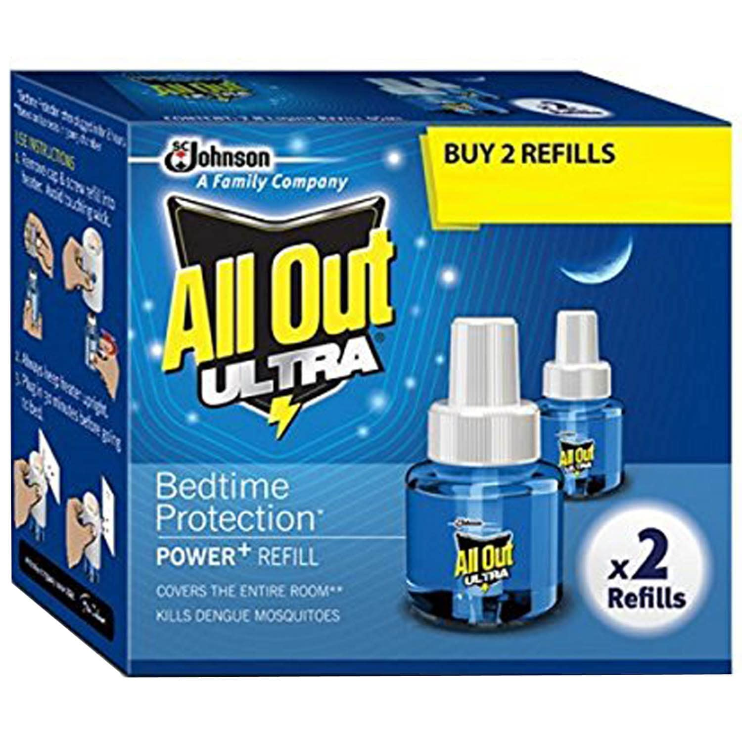 All Out Ultra Refill Pack, 2 Count, Pack of 1