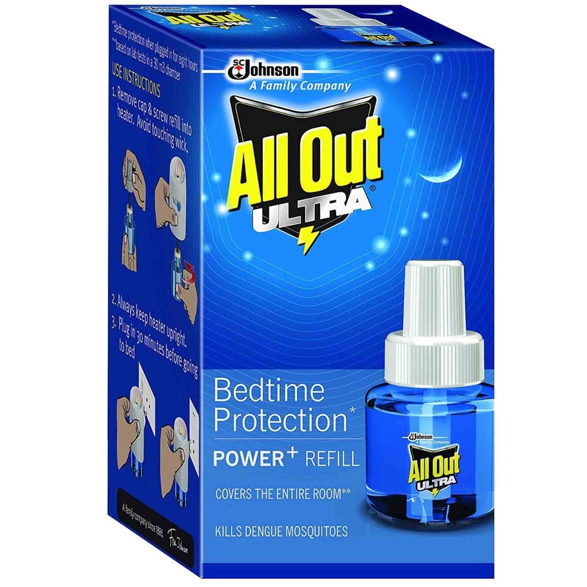 All Out Ultra Power+Refill, 1 kit, Pack of 1