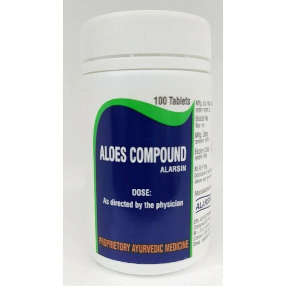 Aloes Compound, 100 Tablets, Pack of 1