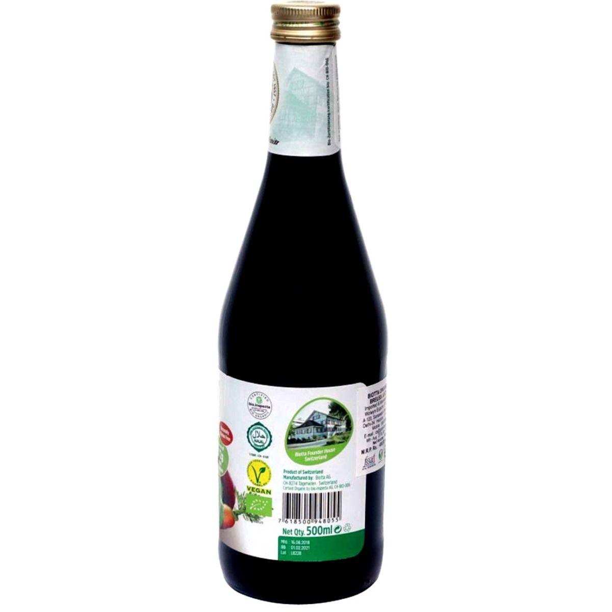 Biotta Breuss Vegetable Juice, 500 ml, Pack of 1