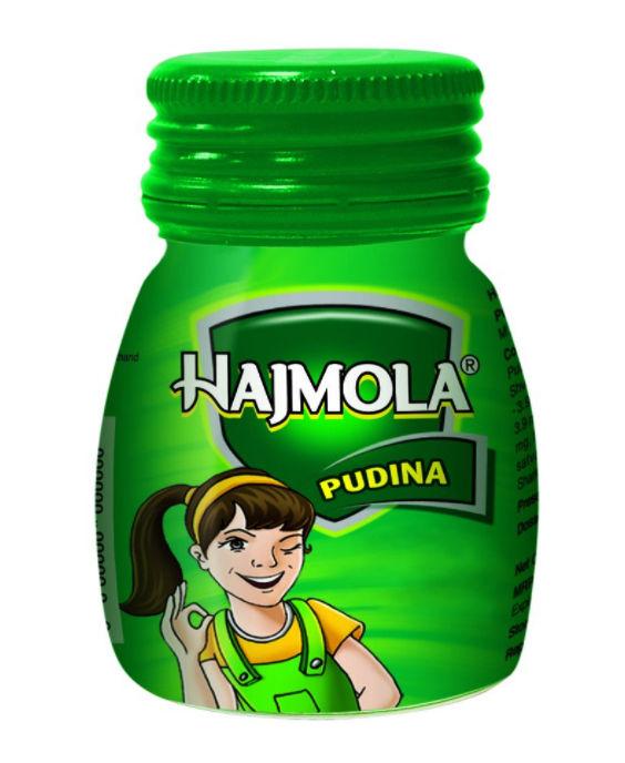 Dabur Hajmola Pudina, 120 Tablets, Pack of 1