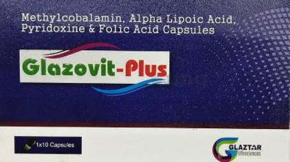 Glazovit-Plus, 10 Capsules, Pack of 10 S